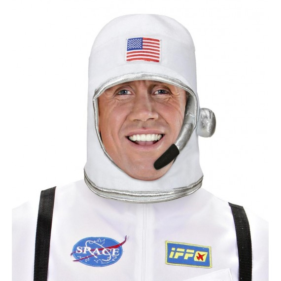 Casco de Astronauta de color Blanco para Adulto