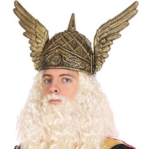 Casco de Vikingo con Alas para Adulto