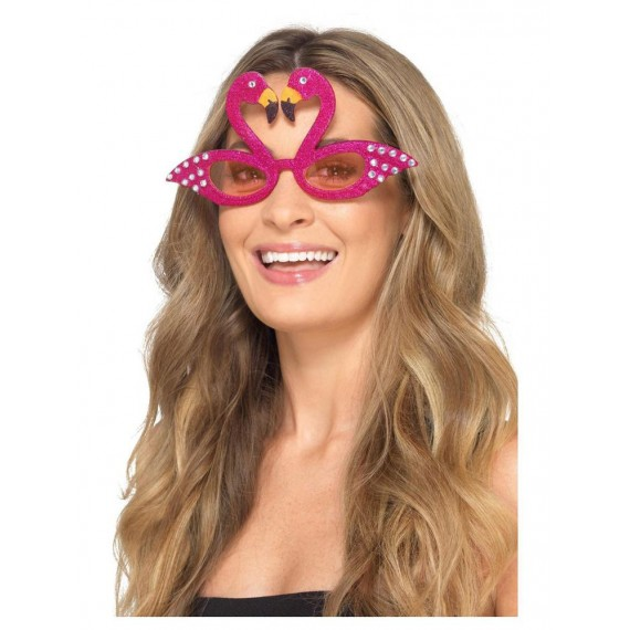 Gafas de Flamencos de color Rosa para Adulto