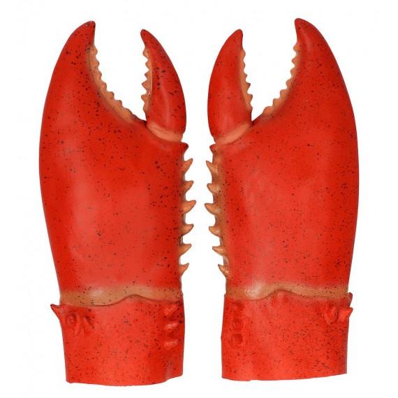 Pinzas de Cangrejo de color Rojo para Adulto