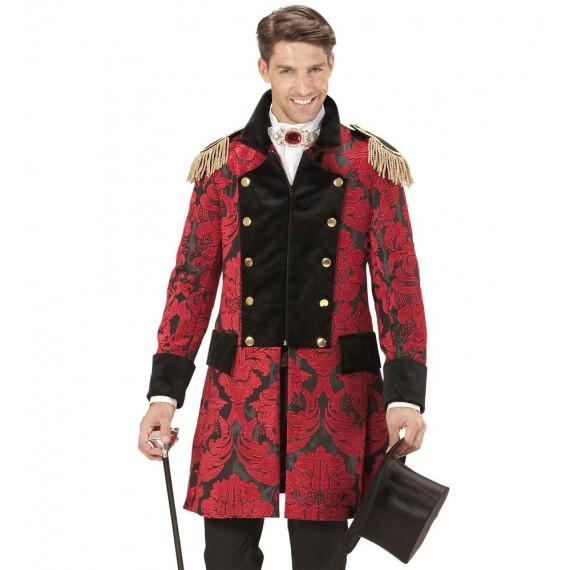 Abrigo de Hombre de Desfile de color Rojo para Adulto