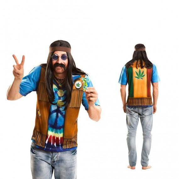 Camiseta de Hippie para Adulto