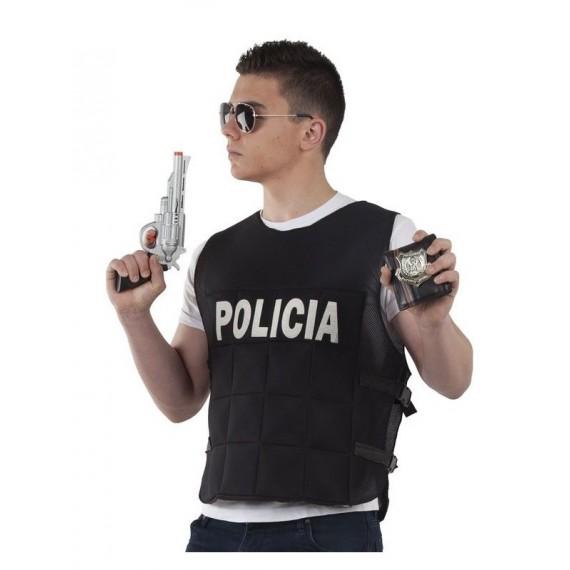 Chaleco Antibalas de Policía para Adulto