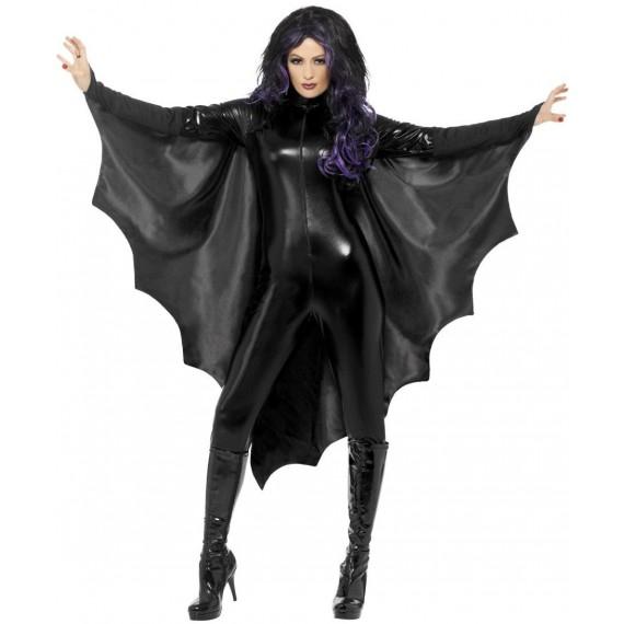 Alas de Murciélago Vampiro de color Negro para Adulto