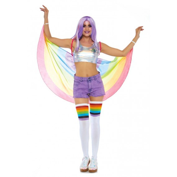 Alas de Rainbow Arcoiris para Adulto