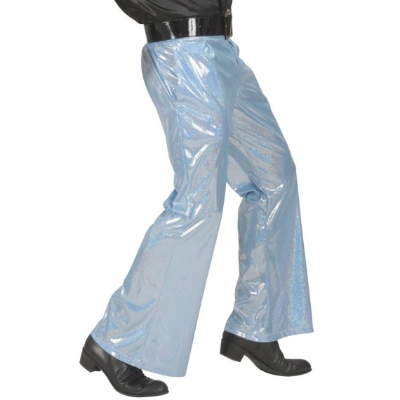 Pantalón Acampanado de color Azul para Adulto