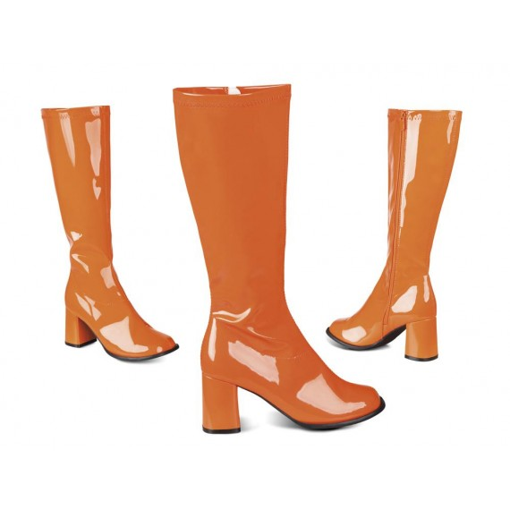 Botas Retro de color Naranja para Adulto