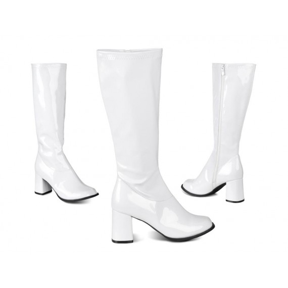 Botas Retro de color Blanco para Adulto