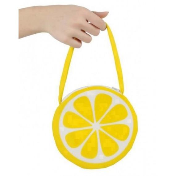 Bolso con Forma de Limón de color Amarillo