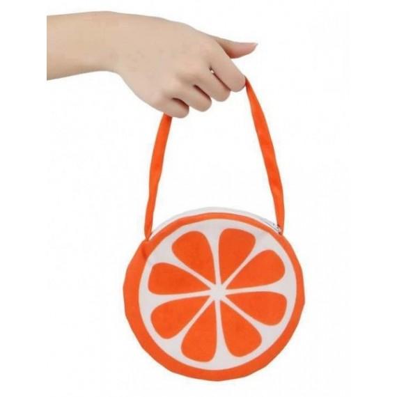 Bolso con Forma de Naranja de color Naranja