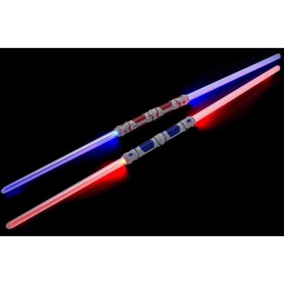 Espada Láser con Luz en los Dos Extremos de 55 Centímetros