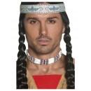 Collar de Indio Americano de color Blanco para Adulto