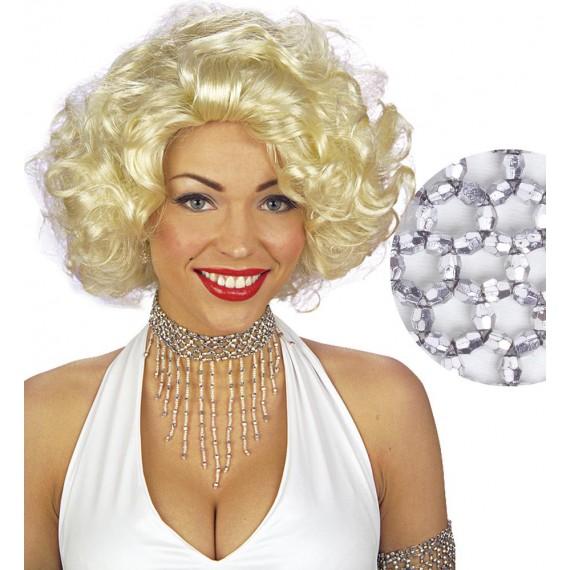 Colgante con Perlas de color Plata para Adulto