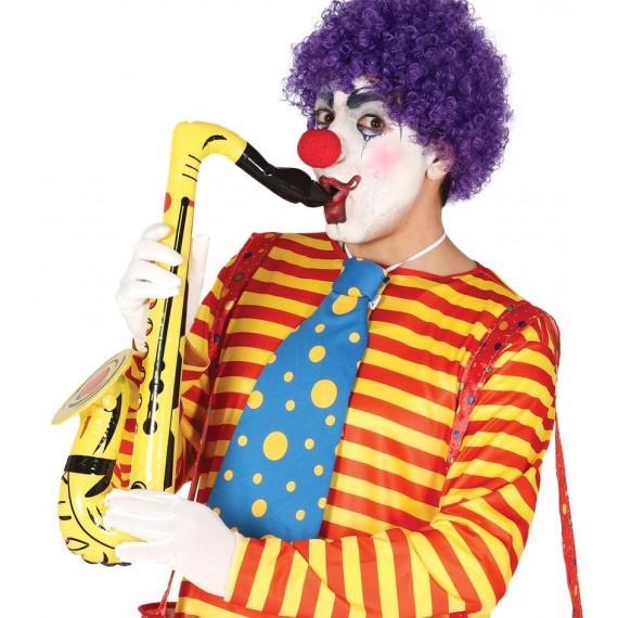 Saxofón Hinchable de 70 Centímetros de color Amarillo