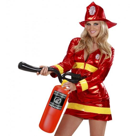 Extintor Hinchable de color Rojo de 50 Centímetros