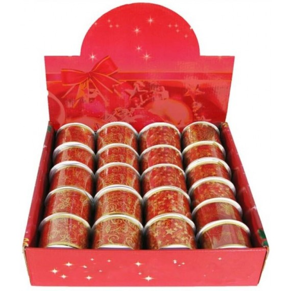 Cinta Decorativa de 5 x 270 Centímetros de color Rojo Varios Modelos