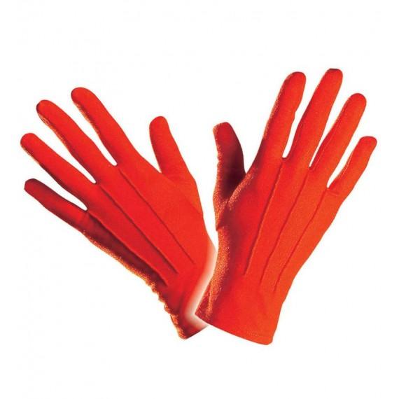 Guantes de color Rojo para Adulto