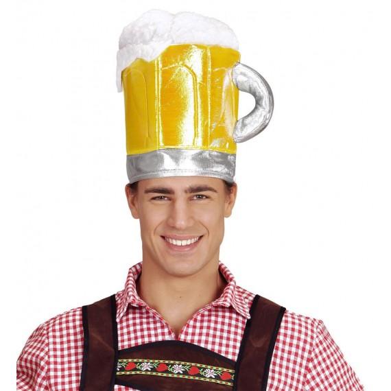 .Gorro de Jarra de Cerveza de Oktoberfest para Adulto