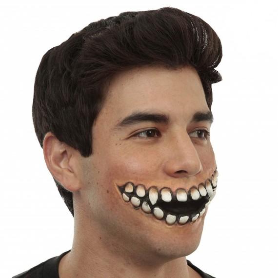 Aplicación de Látex Herida Sonrisa Horripilante