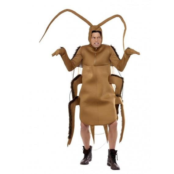 Disfraz de Cucaracha de color Marrón para Adulto