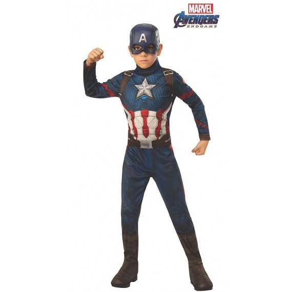 Disfraz de Capitán América Clásico de Endgame Infantil