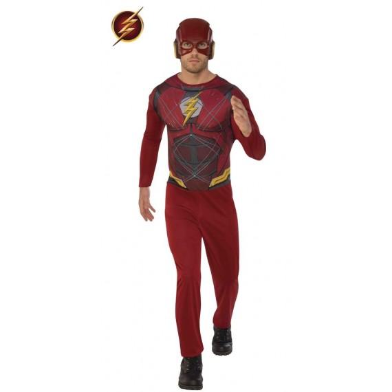 Disfraz de Flash de color Rojo para Adulto