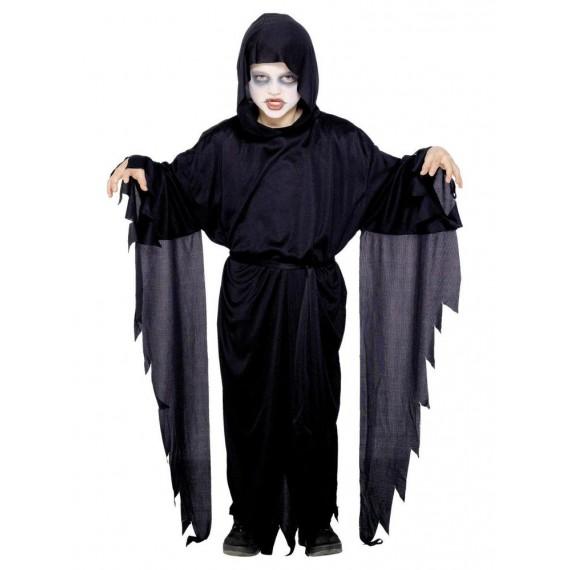 Disfraz de Fantasma de color Negro Infantil