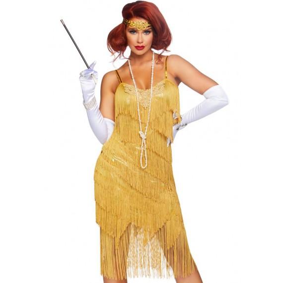 Disfraz de Cabaretera Dazzling Daisy para Adulto