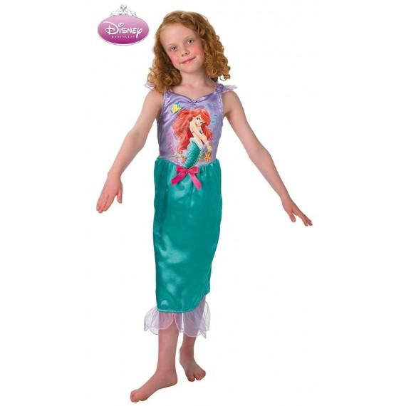 Disfraz de Ariel Clásico de la Sirenita Infantil