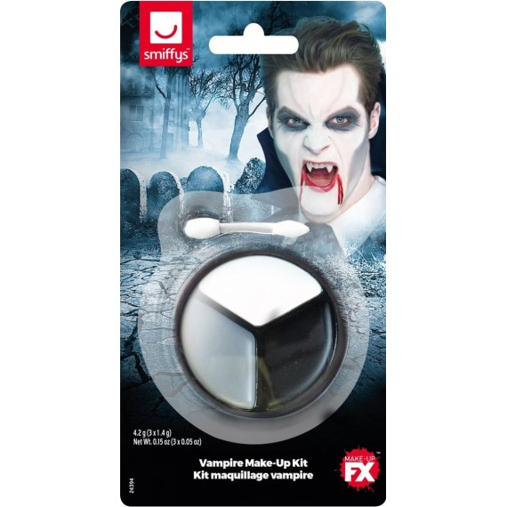 Kit de Maquillaje de Vampiro para Adulto