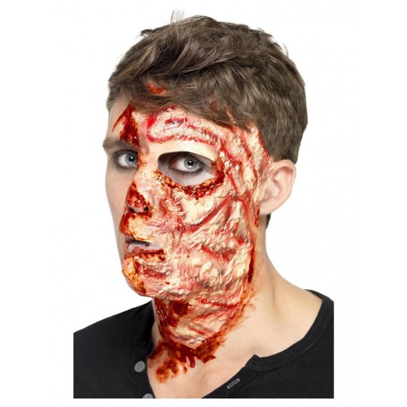 Cicatriz Adhesiva de Cara Quemada para Adulto