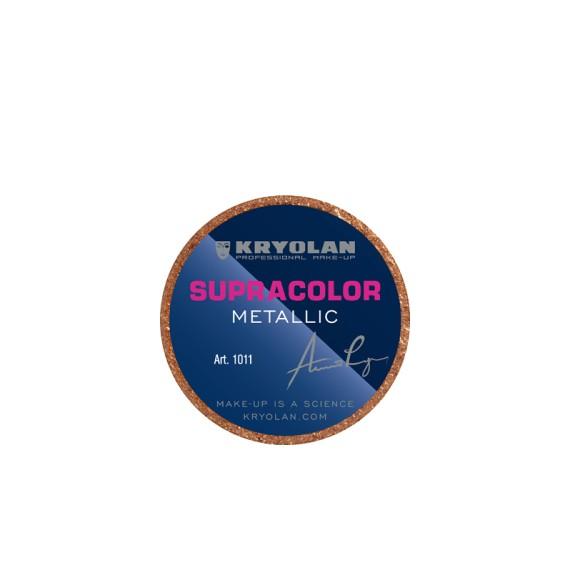 Maquillaje en Crema Supracolor Metallic de 8 Mililitros Varios Colores de Kryolan
