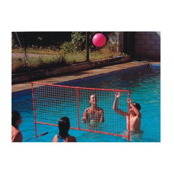 Red Flotante de PVC para Voleibol Acuático de 152 x 60 Centímetros