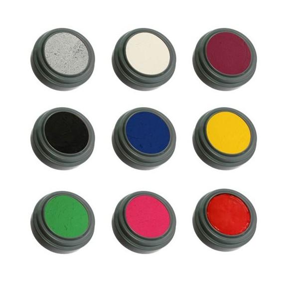Maquillaje al Agua de 2,5 Mililitros Varios Colores de Grimas