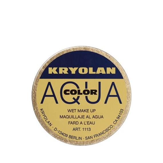 Maquillaje al Agua Aquacolor Metalic de 55 Mililitros Varios Colores de Kryolan