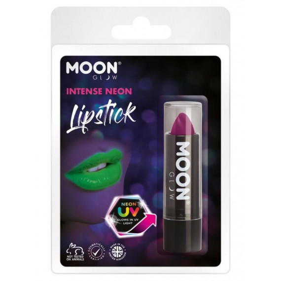 Barra de Labios Moon Glow Intense Neon UV de color Púrpura