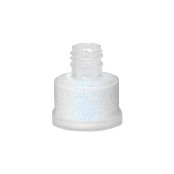 Purpurina Suelta de color Blanca-Azul 03 de 25 Mililitros de Grimas