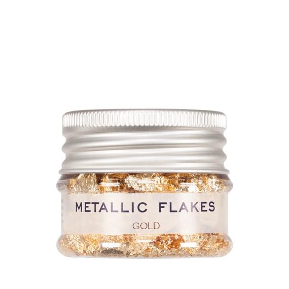 Purpurina en Escama de Metal Metallic Flakes de 1 Gramo Varios Colores de Kryolan