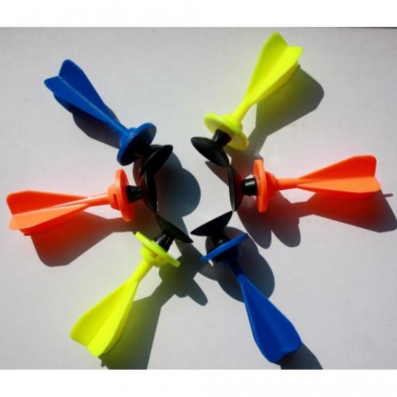 Pack de 6 Dardos con Ventosa