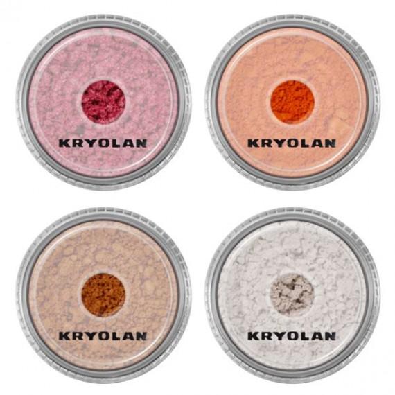 Sombra de Ojos Satin Powder de 3 Gramos Varios Colores de Kryolan
