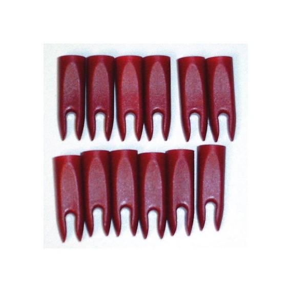 Pack de 12 Culatines de Carbono para Flechas