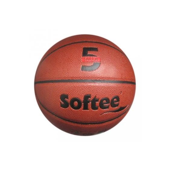 Balón para Baloncesto Senior Talla 5 de Cuero