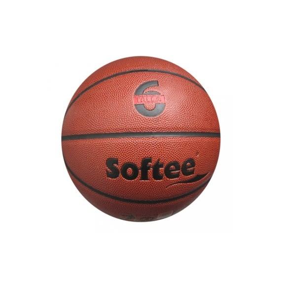 Balón para Baloncesto Senior Talla 6 de Cuero
