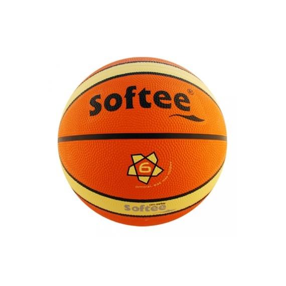 Balón para Baloncesto Senior Talla 6 de Nylon