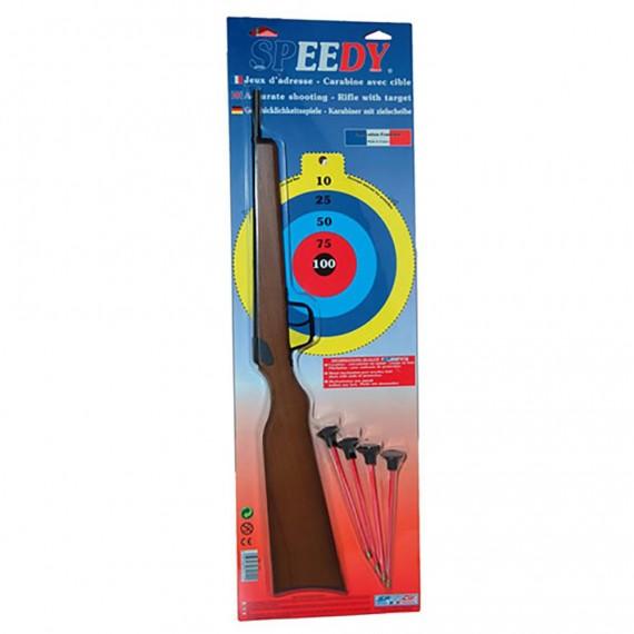 Rifle de Flechas de Seguridad con Ventosa
