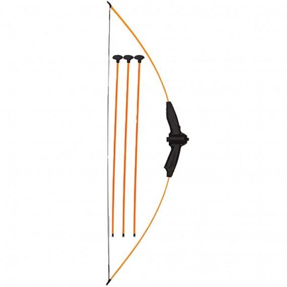 Arco Iniciación y 3 Flechas de Seguridad con Punta de Ventosa