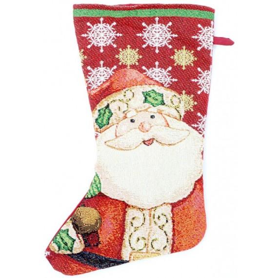 Bota de Papá Noel de color Rojo de 45 Centímetros