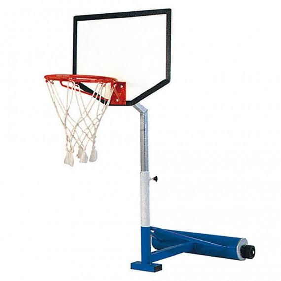 Canasta Regulable de 110 a 160 Centímetros para Baloncesto Acuático