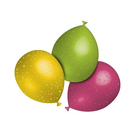 Globo de Agua 1000 Unidades de 3 Centímetros Multicolor 100% Biodegradable