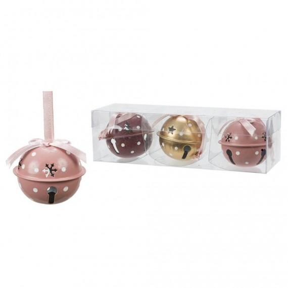 Cascabel de Metal 3 Unidades de 7 Centímetros
